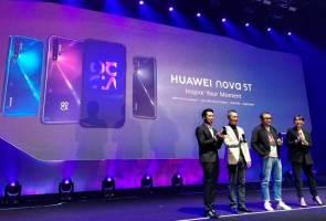 Mempunyai kelas tersendiri dan reka bentuk bergaya, Huawei lancar nova 5T