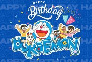 'Selamat Hari Lahir Doraemon!'