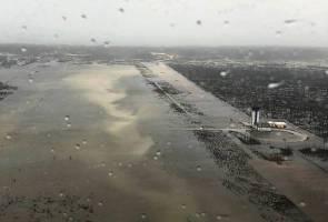 Lapangan Terbang Antarabangsa Bahamas musnah teruk dibadai Taufan Dorian