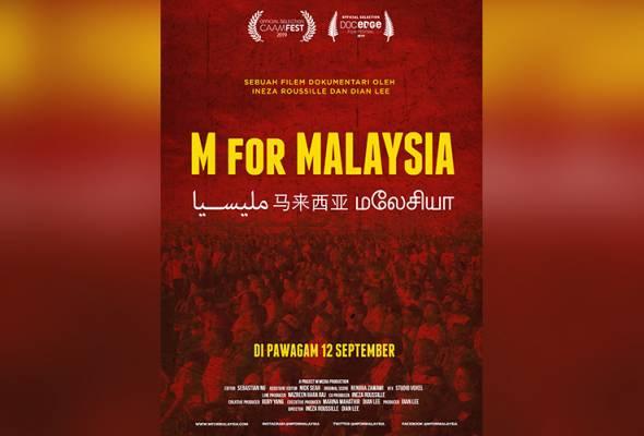 Filem dokumentari M for Malaysia bakal menemui penonton pada 12 September ini. - Astro AWANI | Astro Awani