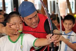 Semai aktiviti memanah sejak awal mampu tingkatkan fokus, disiplin kanak-kanak