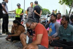 181 ditahan atas pelbagai kesalahan dalam Ops PeWA