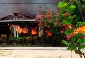 Kanak-kanak empat tahun rentung dalam kebakaran di Tanah Merah