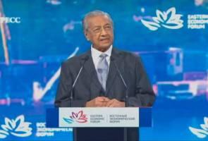 Malaysia timbang tawaran jet pejuang baharu Rusia - Tun Mahathir