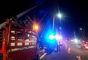 Lelaki maut terjun Jambatan Pulau Pinang