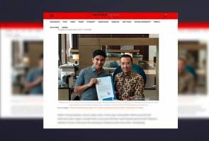 Indonesia mohon maaf pada Malaysia