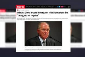 Lelaki siasat kematian Dodi dan Diana, meninggal dunia, bawa bersama rahsia tragedi