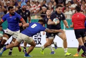 Ragbi Piala Dunia: Scotland belasah Samoa 34-0