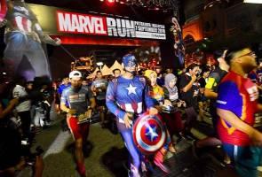 15,000 peserta sertai Marvel Run julung kali diadakan di Malaysia 2