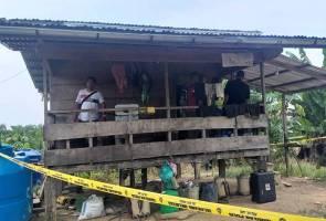 Kes tetak di rumah kebun sawit: Dua suspek ditahan
