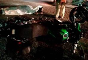 Pesara polis maut kemalangan motosikal, 4WD di Ipoh