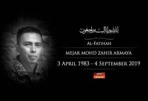TDM akan tubuh lembaga siasatan kenal pasti punca kejadian kematian Mohd Zahir
