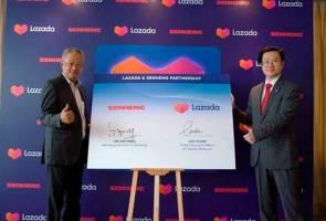 Lazada Malaysia jalin kerjasama dengan Senheng