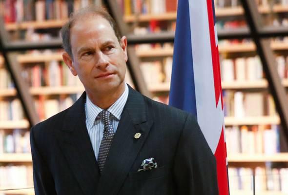 Putera Edward dijadual lawat Malaysia 10 September ini