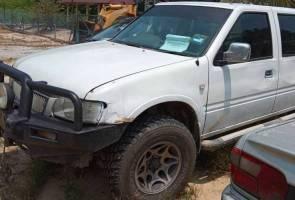Pacuan empat roda milik APM yang hilang sudah dijumpai