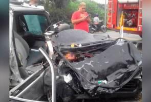 Suami isteri maut kemalangan dalam perjalanan ke tempat kerja