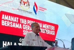 Gerakan koperasi perlu lebih agresif hadapi Revolusi Industri 4.0- Tun Dr. Mahathir