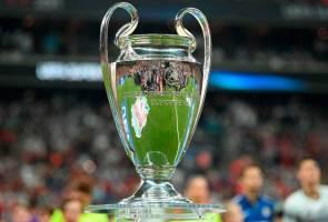 UEFA umum venue final tiga edisi Liga Juara-Juara