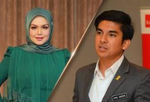 Syed Saddiq menyanyi, Siti Nurhaliza 'risau' tidak boleh cari makan