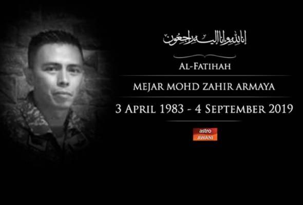 Polis siasat kematian Mejar Mohd Zahir disebabkan kecuaian
