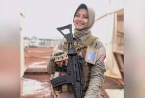 Siapa Hikma Nursya, si gadis manis gagah pikul senjata berat?