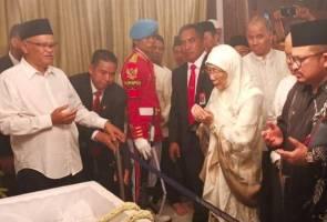 Wan Azizah hadir majlis pengebumian BJ Habibie di Makam Pahlawan