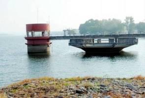 Kemerosotan air empangan di Melaka akibat purata hujan rendah
