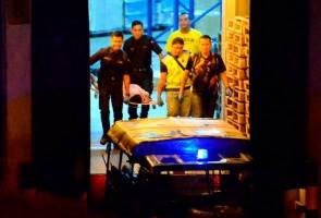 Polis tembak mati lelaki amuk, bunuh rakan sekerja wanita