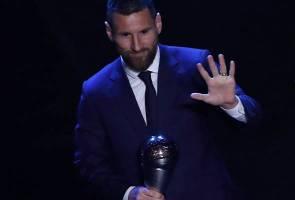 Lionel Messi dinobat Pemain Lelaki Terbaik FIFA 2019