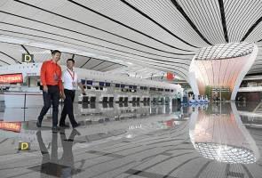 Ke Beijing, dulu PEK, kini Daxing - lapangan terbang baharu PKX