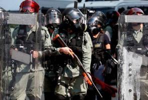 Wartawan Indonesia buta ditembak polis antirusuhan Hong Kong