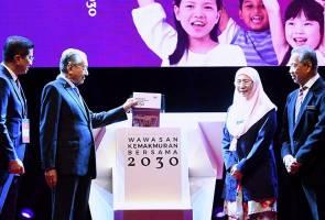 WKB 2030 tidak pinggir Bumiputera - Dr Mahathir