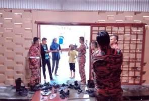 Banjir kilat di Batu Gajah, empat keluarga dipindahkan