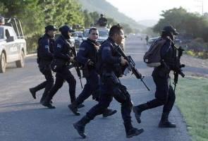 13 anggota polis maut diserang sekumpulan lelaki bersenjata di Mexico