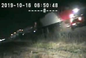 Lelaki nyaris maut dirempuh kereta api