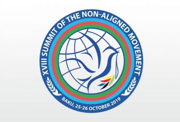 Sidang Kemuncak ke-18 Ketua Negara dan Kerajaan NAM akan berlangsung pada 25 hingga 26 Oktober. Foto Twitter MFA Azerbaijan | Astro Awani