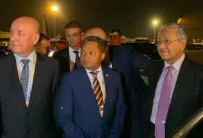 PM tiba di Azerbaijan bagi hadiri Sidang Kemuncak NAM ke-18