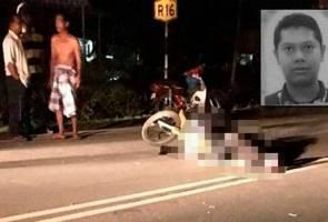 Terlanggar lembu melintas jalan, konstabel maut kemalangan