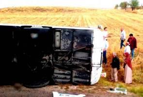 PKNS sahkan kakitangan maut nahas bas Turki