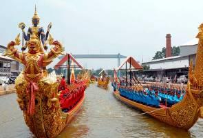 Perarakan Tongkang Diraja Thailand ditangguh ke 12 Disember