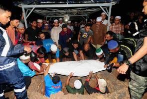Jenazah warga PKNS, Azalan Miswan selamat dikebumikan