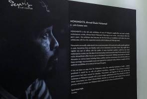 'Monuments' kritikan sosial terbaharu Ahmad Shukri Mohamed