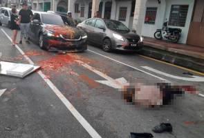 Pekerja MBPP maut dirempuh wanita mabuk
