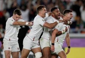 RWC 2019: England tundukkan All Blacks, mara ke final