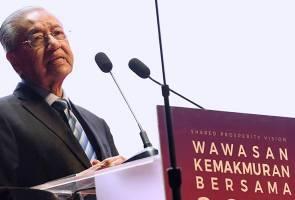 Tiada usaha bersungguh-sungguh capai Wawasan 2020 - Tun Mahathir