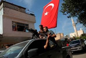 AS kenakan sekatan ke atas Turki susulan operasi ketenteraan di Syria
