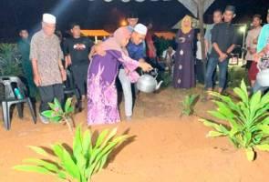 Jenazah Muhammad Syakiran, Nurul Ashikin selamat dikebumi