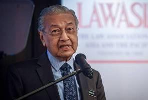 Isu LTTE: Terserah kepada Ramasamy jika tidak puas hati - Tun Mahathir
