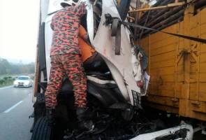 Kemalangan babitkan lapan kenderaan, lelaki maut