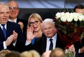 Pemberian suara eksit tunjuk parti pemerintah menangi pilihan raya Parlimen Poland